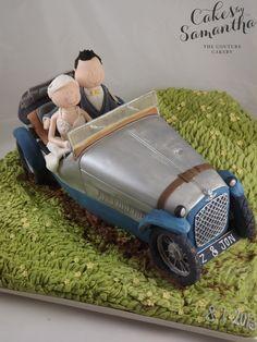 Morgan Novelty car cake morgan Pinterest Car cakes Cake and
