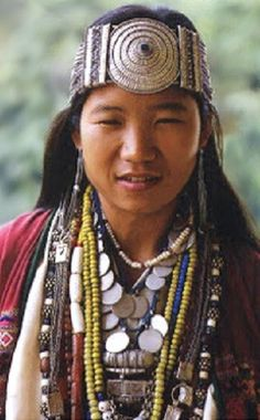 Tribal Girl Arunachal Pradesh