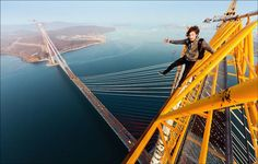 Skywalking Russians – Heart-Racing Photography (13 Pictures   Clip)