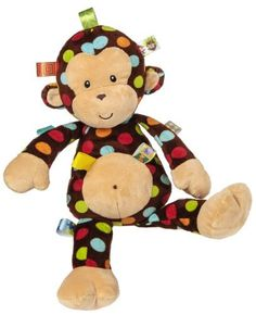 Taggies Big Dazzle Dots Soft Toy, Monkey by Taggies. $18.32. Featuring a silky soft underside and plush microfiber top this blanket is sure to be cherished for years to come. With truly innovative attributes and small beginnings, Taggies has revolutionized and redefined how little ones feel secure and engaged in play. Originating with a mother's observation that her baby was more interested in the satin tags on toys than the object itself, today Taggies offers a broad array...