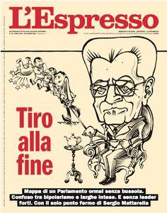 La copertina dell'Espresso in edicola da domenica 18 giugno