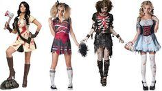 Disfraces de Zombies para Halloween.