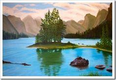 Jasper National Park http://www.artpromotivate.com/2013/01/helen-duplassie-artist-finding-myself.html