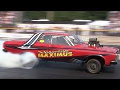 ▶ 2014 Meltdown Drags Bilina Bierman Grenko Chevy Mopar Gassers Byron Dragway Nostalgia Drag Racing - YouTube