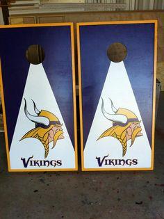 MN Vikings Cornhole Boards