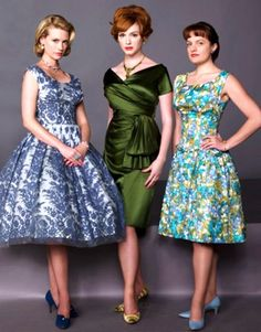 Madmen - Betty, Joan, Peggy