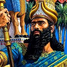 """Nebuchadnezzar II was a king of the Neo-Babylonian Empire, who reigned c. 605 BC – 562 BC. Both the construction of the Hanging Gardens of Babylon & the destruction of Jerusalem's temple are ascribed to him. He is featured in the Book of Daniel & is mentioned in several other books. Nebuchadnezzar's name means """"O god Nabu, preserve/defend my firstborn heir"""". Nabu, son of the god Marduk, is the Babylonian deity of wisdom. In an inscription, Nebuchadnezzar styles himself as Nabu's """"beloved""""."""