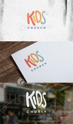 baby logo Kids Church Logo More - Kids Branding, Logo Branding, Church Graphic Design, Kids Graphic Design, Church Design, Daycare Logo, Preschool Logo, Childrens Logo, Inspiration Logo Design