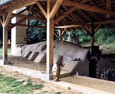 Marcus Rusch's anagama kiln, another view.  Germany