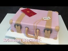 Brilliant Picture of Suitcase Birthday Cake . Sweet 16 Birthday Cake, 18th Birthday Cake, Adult Birthday Cakes, Luggage Cake, Suitcase Cake, Bon Voyage Cake, Goodbye Cake, Farewell Cake, Travel Cake