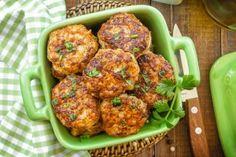 Chicken Rissoles Recipe on Yummly. Mince Recipes, Cooking Recipes, Chicken Rissoles, Chicken Cutlets, Rissoles Recipe, Lentil Patty, Healthy Christmas Recipes, Healthy Snacks, Healthy Recipes