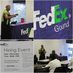 NCWorks Career Center Hosted a Hiring Event for FedEx Ground for Part-Time Package Handlers. Don't miss any of the next events. Stay up to date with our Calendar: bit.do/NCWorksHiringEvents