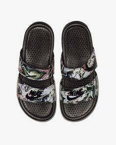 buy popular 71799 646c9 Nike Benassi Duo Ultra Marble Women s Slide - 6 Nike Benassi Duo, Nike  Benassi Slides