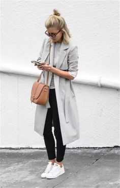 pastel grey look with black jeans #omgoutfitideas #styleoftheday #clothes