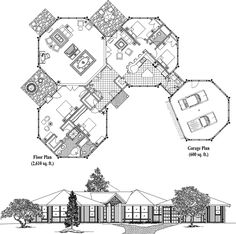 Online House Plan: 3210 sq. ft., 4 Bedrooms, 3 Baths, Classic Collection (CM-0313) by Topsider Homes.