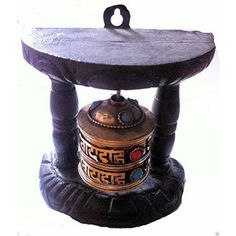 Handmade Nepal Tibetan Wall Prayer Wheel Wood Mantra - buy for on Terrapin Trading long x wide Spin for merit! Wall mountable wooden Fair Trade item from Nepal Terrapin, Rat Race, Home Wall Decor, Fair Trade, Mantra, Nepal, Spin, Ethnic, Prayers