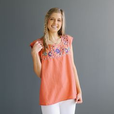Midway Embroidery Top | Called To Surf