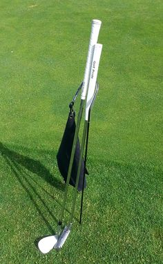 ef0781d4ce7 Putter Buddy in stylish black to keep your clubs dry from the reclaimed  treated sewer water that golf courses use to water greens.