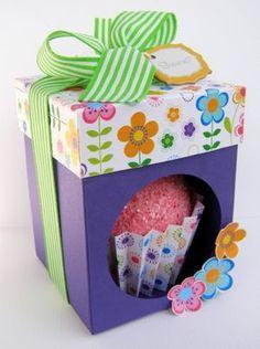cupcake box!! so cute