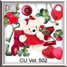 Vol. 502 Love Pack by Doudou's Design  cudigitals.com cu commercial scrap scrapbook digital graphics#digitalscrapbooking #photoshop #digiscrap