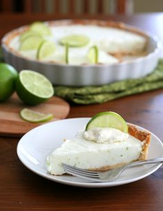 Frozen Margarita Tart with Voskos Greek Yogurt – Low Carb and Gluten-Free - A delicious frozen Greek yogurt tart with all the flavours of a classic margarita.  Total NET CARBS = 6.2 g per serving