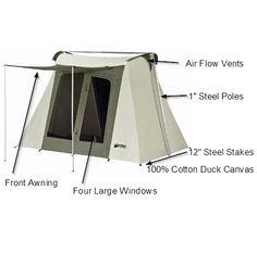 Kodiak Canvas Tents 6098 9 x 8 ft. Flex-bow