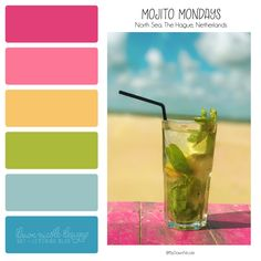 DND Color Palettes.  Dawn Nicole Designs®