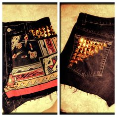 DIY: high waisted shorts!!
