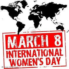 """This year's theme is """"Equal access to education, training and science and technology: Pathway to decent work for women."""" Happy Women's Day everyone! How will you celebrate?"""