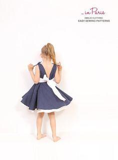 (9) Name: 'Sewing : Adria full circle dress pattern