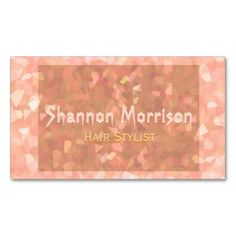 Subtle Orange Glitter Business Card Templates. Stand out from the rest of the competition with the beautiful glitter look business card. The card contains no glitter, it's just the artwork than makes it look glittery. Put some sparkle in your life.