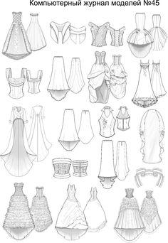 Выкройки платья лето