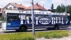 Brendiranje vozila autobus Pacarti studio