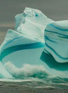 Iceberg Listrado belíssimo