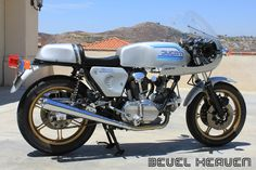 Nice 1982 Ducati bevel drive 900 Super Sport with an earlier SS solo seat.