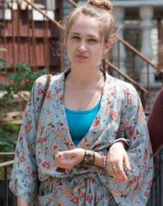 Obsessing over this show and Jessa Johansson (played by Jemima Kirke). I have a slight (huge) girl crush on her and her style Jessa Girls, Girls Hbo, Jessa Johansson, Lena Dunham Girls, Girls Tv Series, Hbo Series, Boho Fashion, Girl Fashion, French Fashion