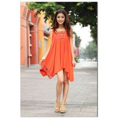 564125142c Pisinu Bohemian Embroidered National Style Irregular Vest Skirt 29.5 USD