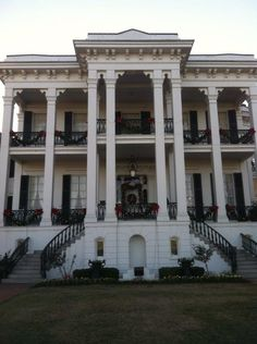 A tour of at least one antebellum home in the south.