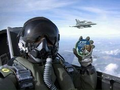 Pakistan Air Force is conducting battle readiness exercises, expect sweet jet music playing in the skies above you. Airplane Fighter, Airplane Art, Fighter Aircraft, Jet Fighter Pilot, Fighter Jets, Military Jets, Military Aircraft, Pakistan Armed Forces, Female Pilot