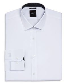 Wrk Solid Stretch Slim Fit Dress Shirt