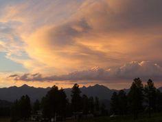 Beautiful Pagosa Sunset in Pagosa Springs, CO