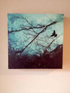 """Coming Home"" acrylic mixed media, by Carla McGillivray"