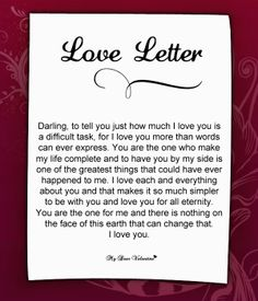 valentine love notes her