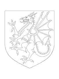 Coloriage colorier dragon