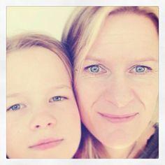 Ingrid og mamma