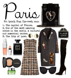 """""""Paris in Fall"""" by xoxo-camellia on Polyvore featuring Dolce&Gabbana, Chanel and Lancôme"""