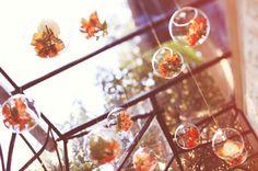 Palline di vetro da appendere