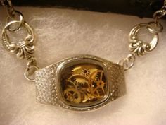 Unique Steampunk Watch Parts in Upcycled Vintage by ClockworkAlley, $28.00