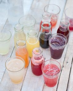 Easy Homemade Fruity SImple Syrups from Amy Christie - Sweet Paul presents My Happy Dish