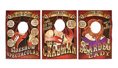 carnival props,circus party,backdrops,standees,large party props -   Jilly Bean Kids www.jillybeankids.com